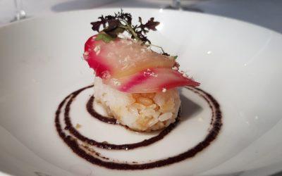 Sushi de remolacha