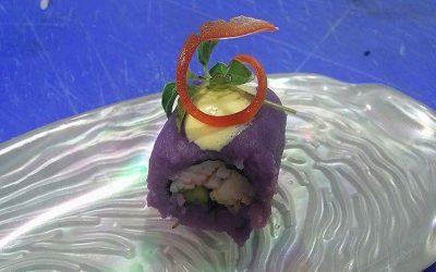 El ojo de la aguja: Sushi de papa y mayonesa