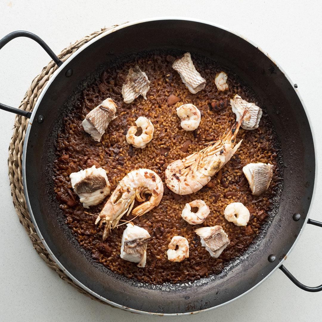 Arroz en paella - Un sitio de gastronomía - marzo 19, 2021