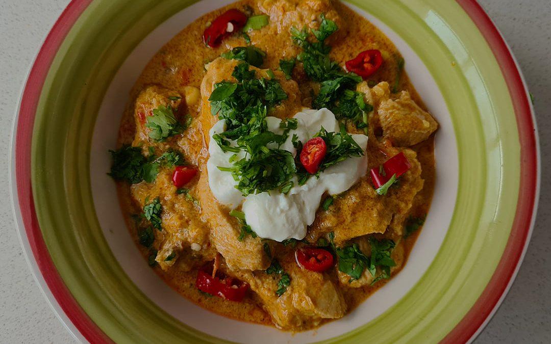 Tikka Masala de pollo