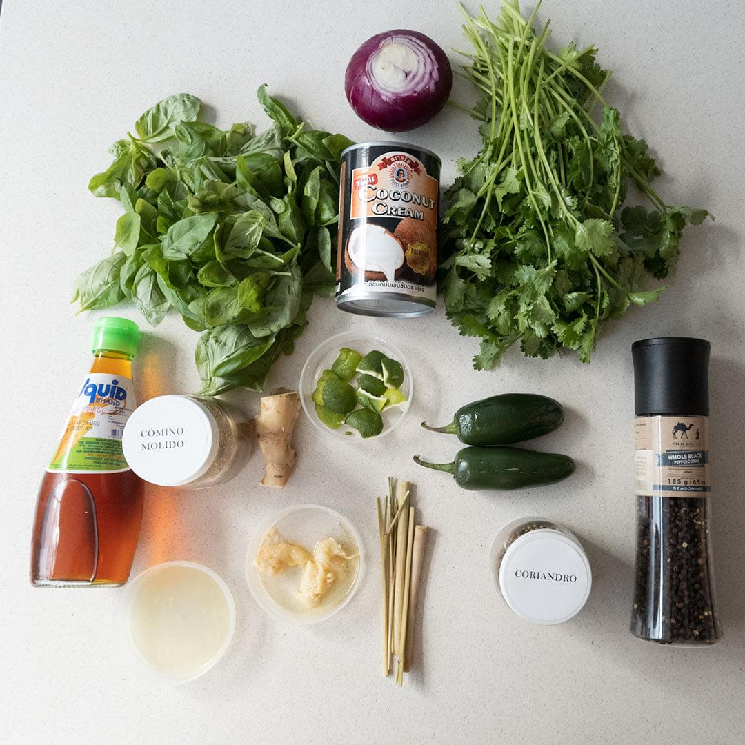 Pasta de curry verde - Un sitio de gastronomía - marzo 6, 2021