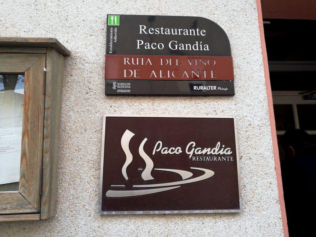 Paco Gandía - Un sitio de gastronomía - noviembre 27, 2016