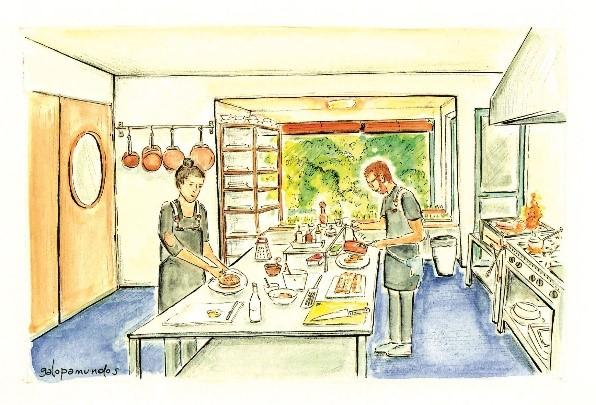 Anima: Panna Cotta de Hongos, Toffee & Tuill - Un sitio de gastronomía - junio 4, 2021