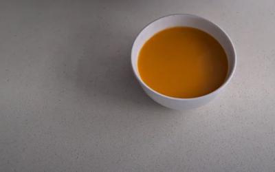La sopa de calabaza más sencilla del mundo