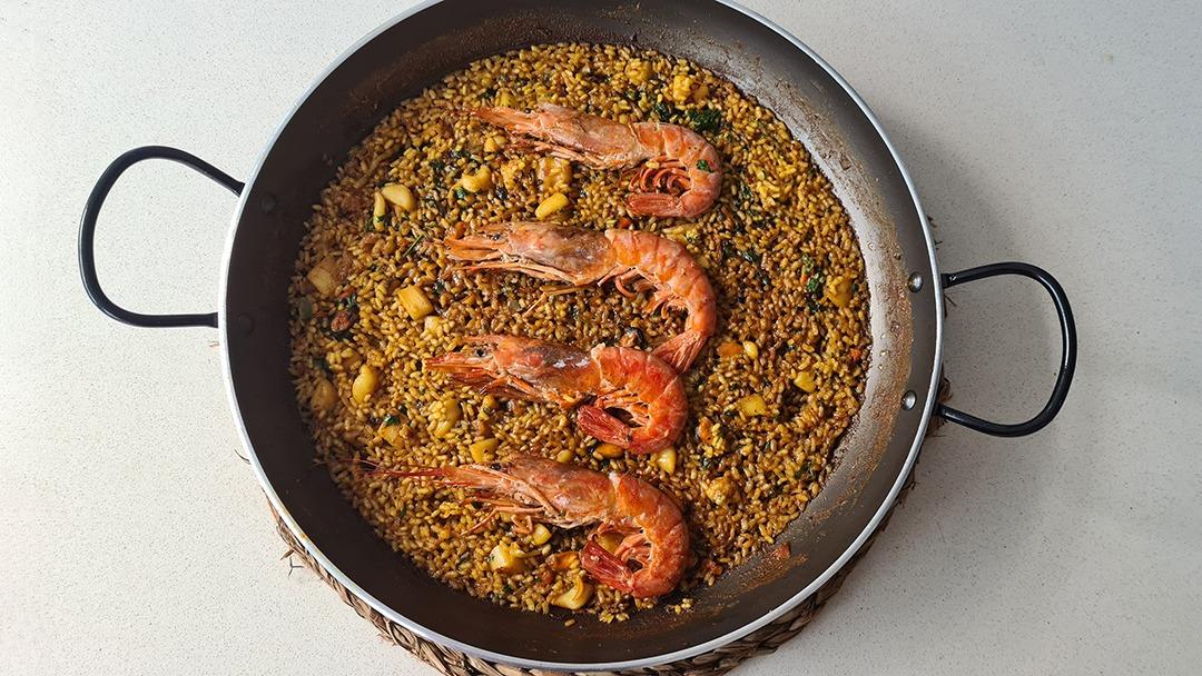 Arroz seco de sepia y langostinos - Un sitio de gastronomía - octubre 3, 2021